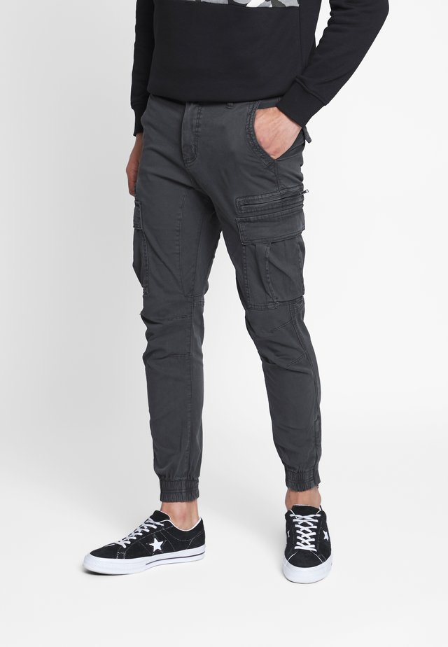 URBAN - Cargo trousers - duster black