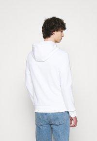 Michael Kors - HOODIE HEART PATCH - Zip-up sweatshirt - white - 2