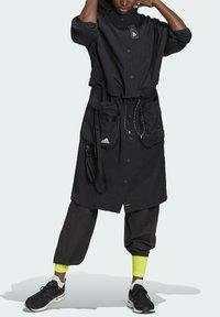 adidas Performance - Three-in-One PARKA SPORTS LOOSE JACKET - Parka - black - 7