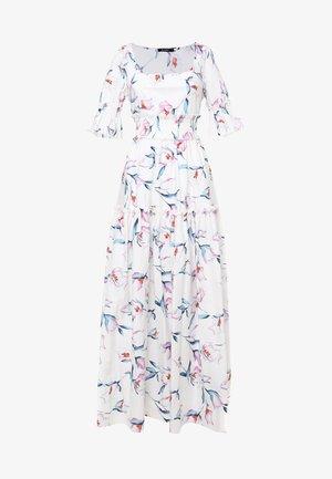 SALAMEA - Maxi-jurk - weiß, rosa