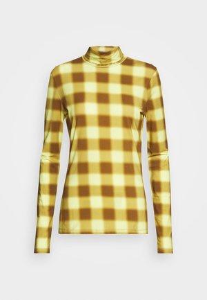 LONG SLEEVE TNECK - Långärmad tröja - yellow