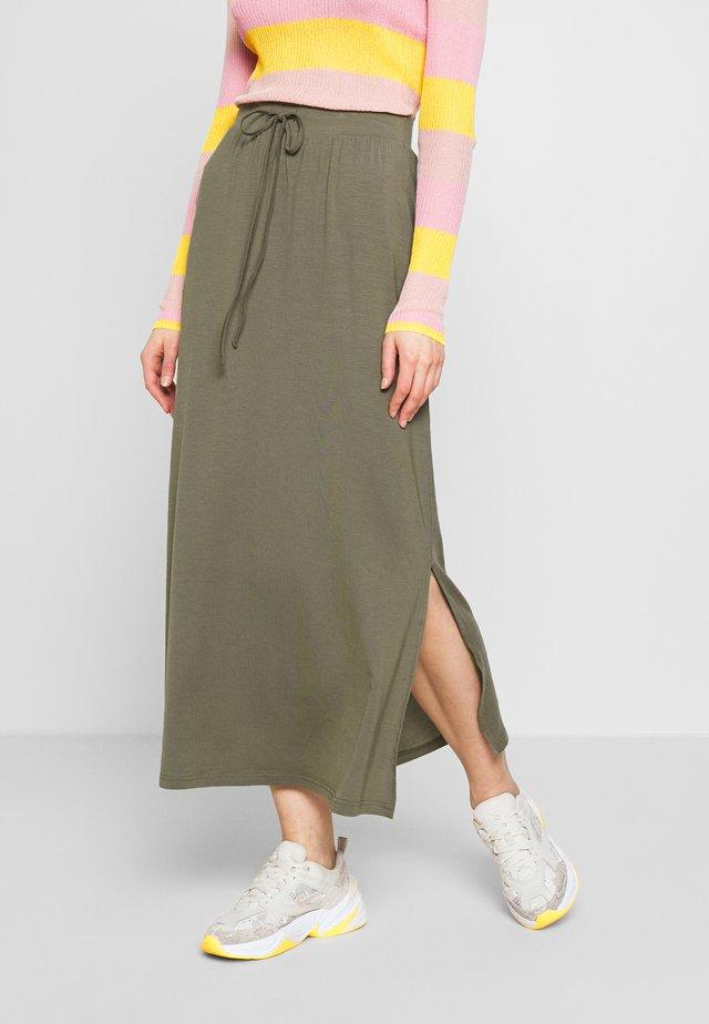 VMAVA ANCLE SKIRT  - Maxi skirt - bungee cord