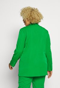 MY TRUE ME TOM TAILOR - WITH CONTRAST LINING - Short coat - gras green - 2