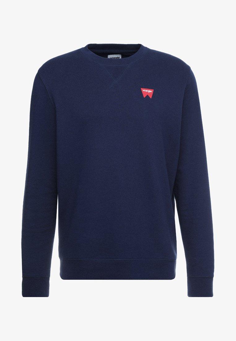 Wrangler SIGN OFF - Sweatshirt - navy/dunkelblau iq0DAV