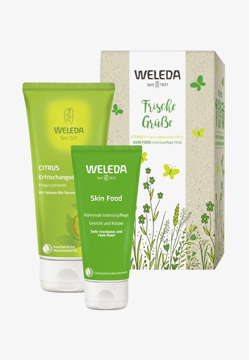 Weleda - WELEDA GIFT SET CITRUS & SKIN FOOD - Skincare set - -