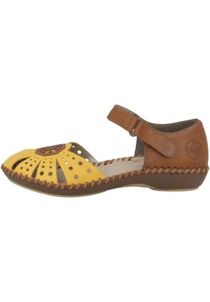 Sandals - yellow-cayenne (m1666-69)