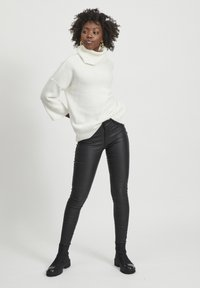 Vila - VICOMMIT - Jeans Skinny Fit - black - 1