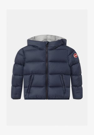 GILRS SEMI GLOSS - Down jacket - navy blue/dark steel