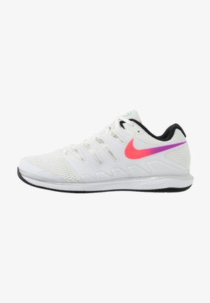 AIR ZOOM VAPOR X - Multicourt tennis shoes - summit white/white/black/electro green