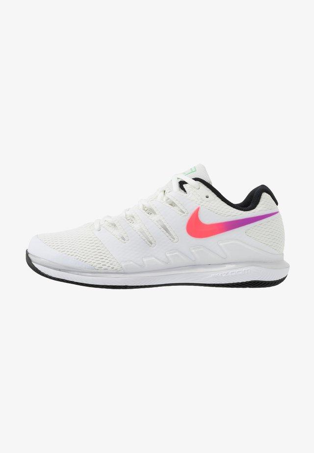 AIR ZOOM VAPOR X - All court tennisskor - summit white/white/black/electro green