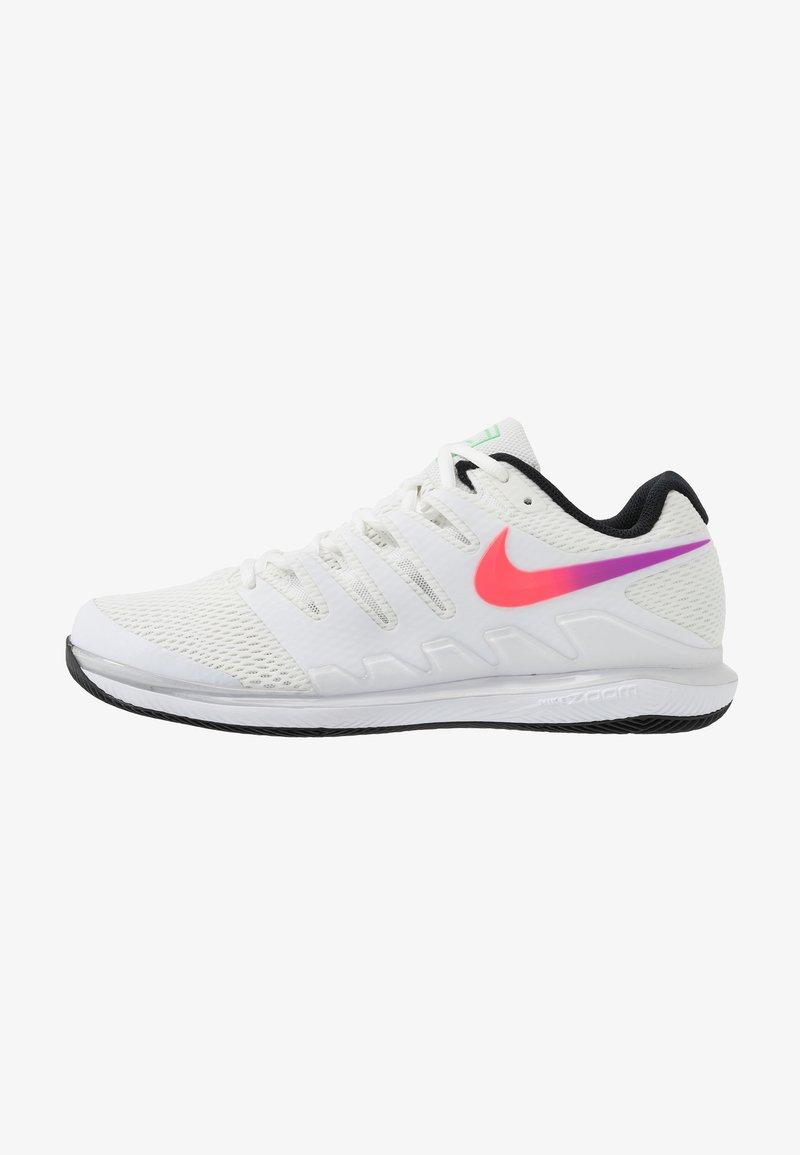 Nike Performance - AIR ZOOM VAPOR X - Tenisové boty na všechny povrchy - summit white/white/black/electro green
