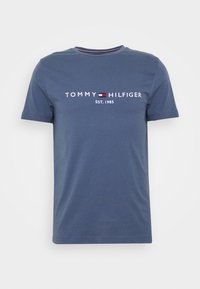Tommy Hilfiger - LOGO TEE - T-shirt con stampa - blue - 3