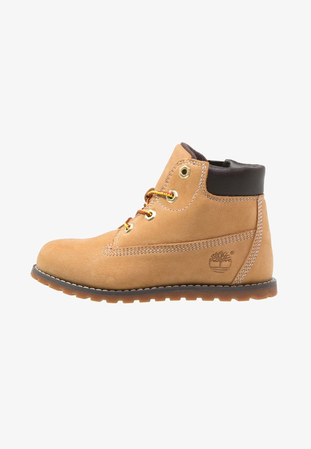 POKEY PINE  - Bottines à lacets - wheat