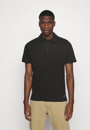 CORK - Polo shirt - black