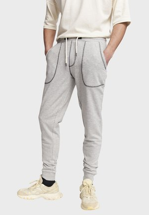 DIEGO - Pantaloni sportivi - mid grey melange