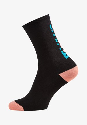 WM TICKER SOCK (6.5-10, 1PK) - Strømper - black