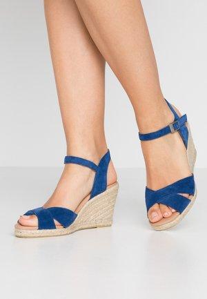 DORIT - Højhælede sandaletter / Højhælede sandaler - sea blue