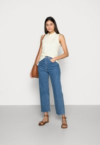 Tommy Hilfiger - SLIM NO SLEEVE - Top - yellow - 1