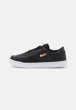 COURT VINTAGE PRM - Sneakers basse - black/white/total orange