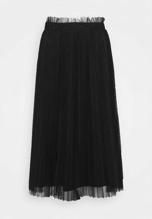 CICALA - Áčková sukně - black
