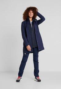 Vaude - WOMEN'S KAPSIKI COAT - Hardshell jacket - eclipse uni - 1