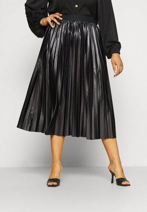 CARLINA SKIRT - Pleated skirt - black