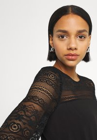 Vila - VIURIS LACE DRESS - Day dress - black - 3