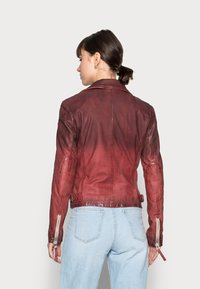 Gipsy - KANDY LAMOV - Leather jacket - ox red - 2