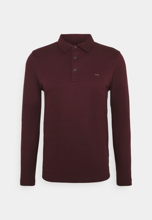SLEEK - Polo shirt - cordovan
