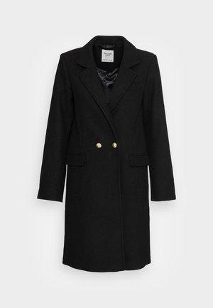 TAILORED SLIM DAD COAT - Manteau classique - black