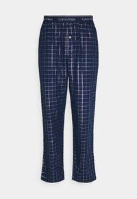 Calvin Klein Underwear - SLEEP PANT - Pyžamový spodní díl - blue - 0
