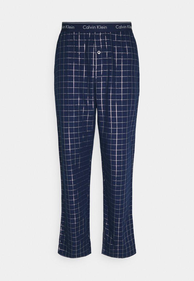 Calvin Klein Underwear - SLEEP PANT - Pyžamový spodní díl - blue