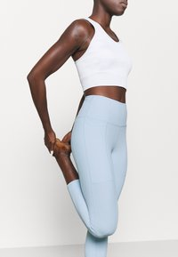 Cotton On Body - POCKET 7/8 - Leggings - baby blue - 3
