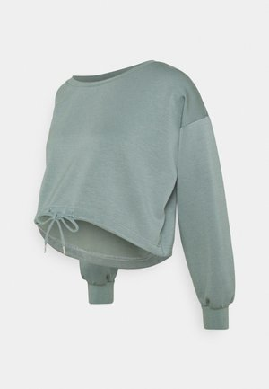 MLRAY CROP - Sweatshirt - chinois green