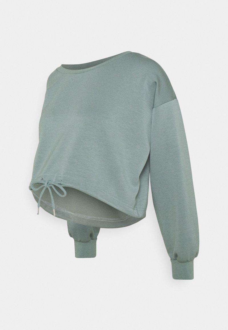 MAMALICIOUS - MLRAY CROP - Sweatshirt - chinois green
