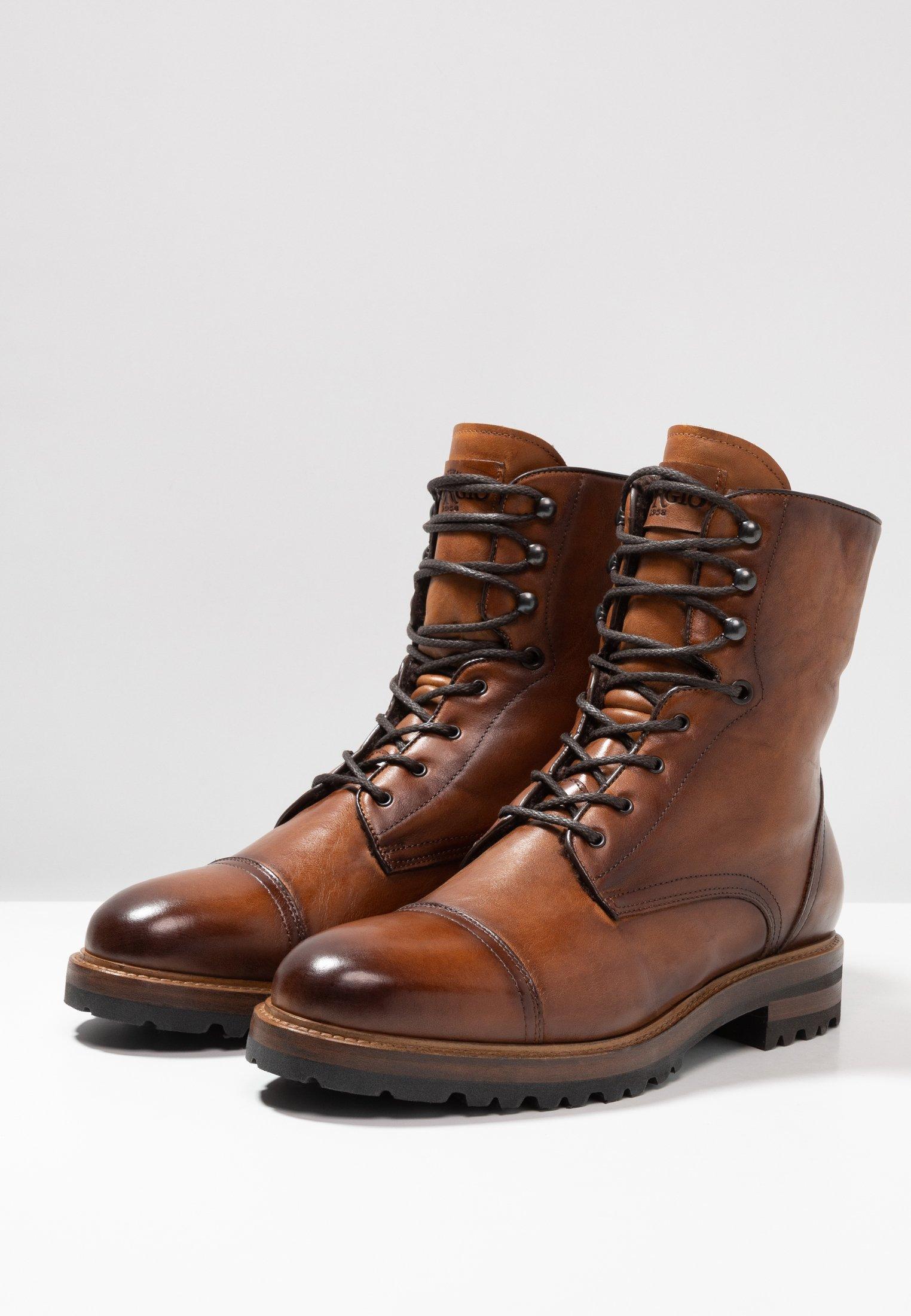 New Cheapest Giorgio 1958 Lace-up ankle boots - cognac | men's shoes 2020 H9lr6