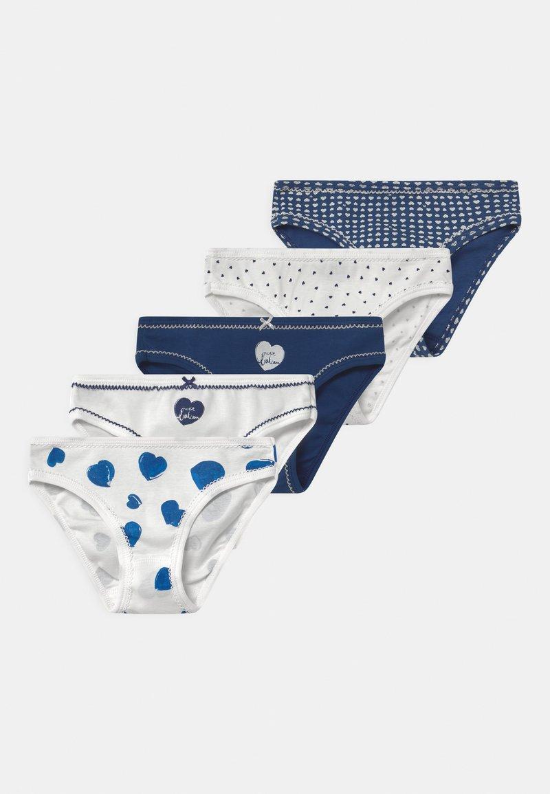 Petit Bateau - 5 PACK - Briefs - blue/white