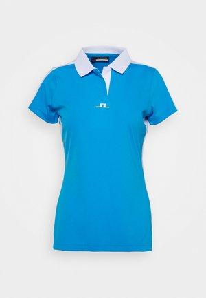 NOUR GOLF - Sports shirt - ocean blue