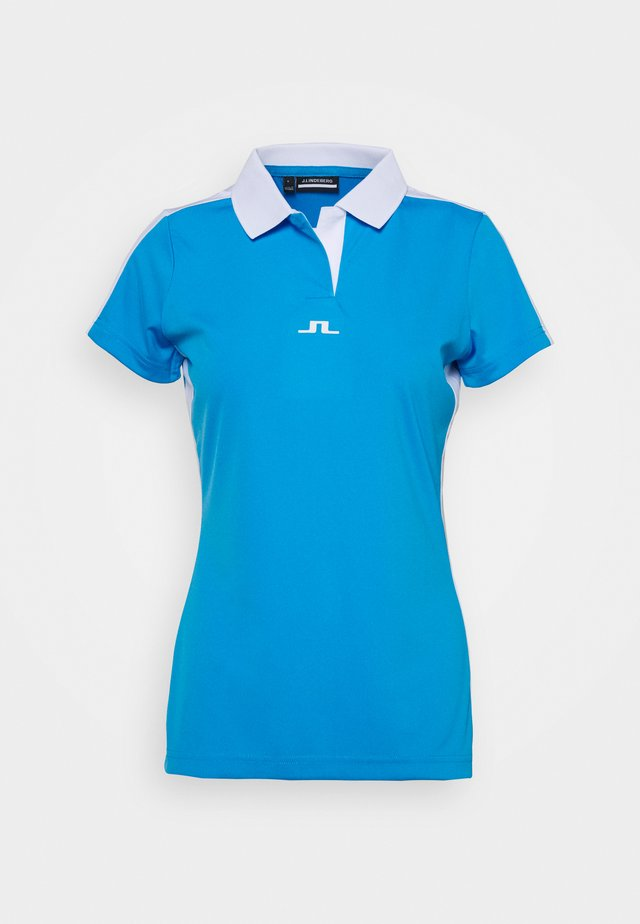 NOUR GOLF - Sports shirt - ocean blue