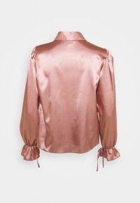 Miss Selfridge - TIE CUFF - Button-down blouse - pink - 1