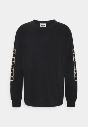 LONGSLEEVE UNISEX - Long sleeved top - black
