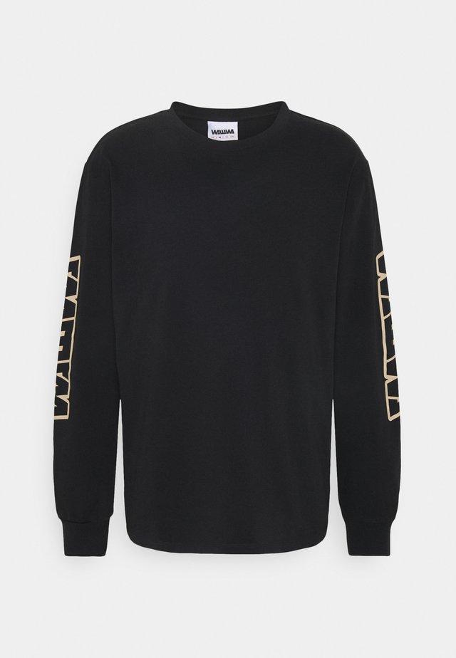 UNISEX - Maglietta a manica lunga - black