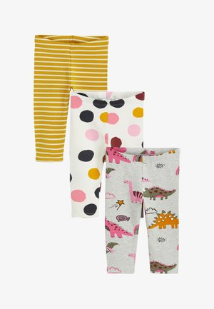 3PACK - Leggings - Trousers - yellow
