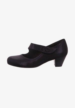 Ankle strap ballet pumps - nightblue