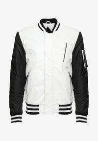 Be Edgy - BESASCHA - Leather jacket - white/black - 4