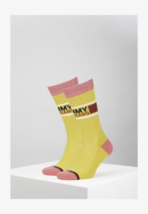 Socks - yellow/pink