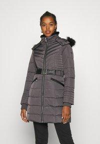 Morgan - GIRO - Abrigo de plumas - gris anthracite - 0