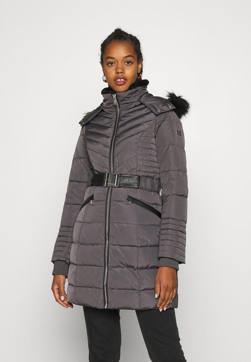 Morgan - GIRO - Abrigo de plumas - gris anthracite