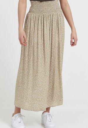 PZBENEDIKTE  - Maxi skirt - tannin flower printed