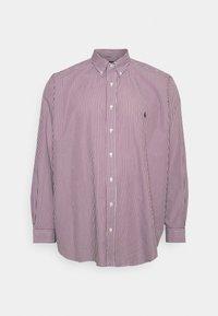 Polo Ralph Lauren Big & Tall - LONG SLEEVE SPORT SHIRT - Shirt - wine/white - 5